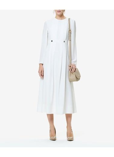 Aker Elbise Beyaz